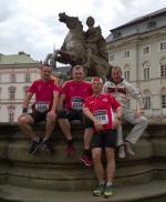 Półmaraton w Ołomuńcu, czyli festyn, spotkanie biegaczy i okazja do zabawy